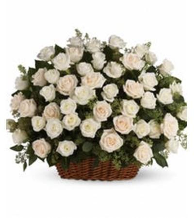 Bountiful Rose Array Basket