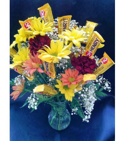 Flowering Candies Arrangement