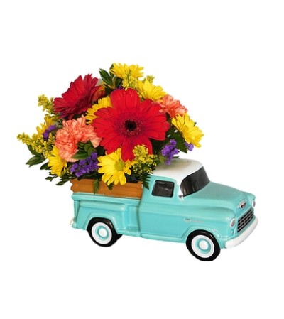 50's Vintage Chevy Truck Bouquet