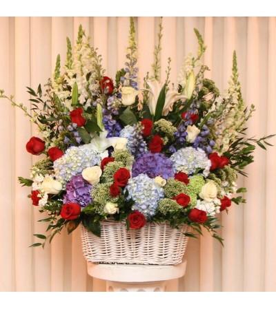 Garden Splendor Basket