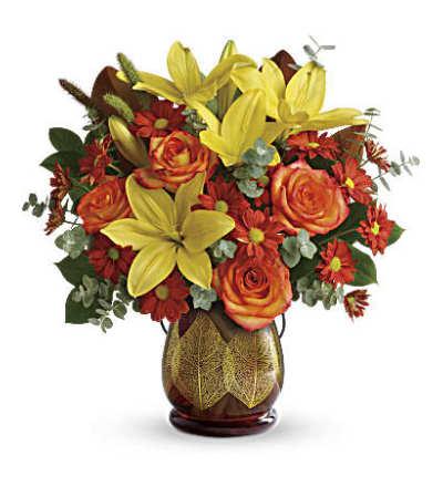 Citrus Harvest Bouquet