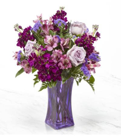 The Pretty in Purple Bouquet