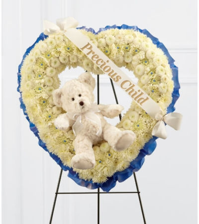 Precious Child Wreath