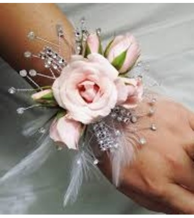 Tickle Her Fancy Wrist Corsage