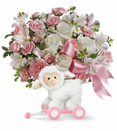 Pink Little Lamb Bouquet