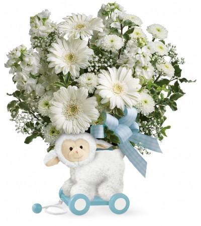 Blue Little Lamb Bouquet