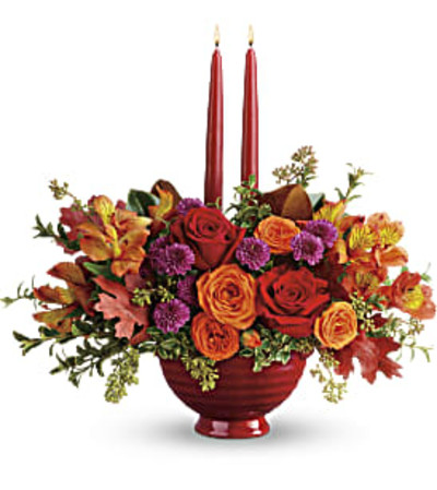 Bright Fall Centerpiece