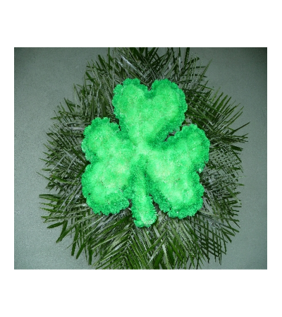 CUSTOM SHAMROCK STANDING SPRAY
