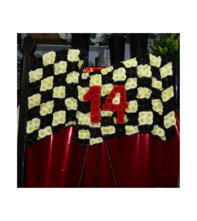CUSTOM RACING CHECKERED FLAG