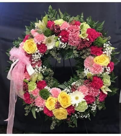 Graceful Remembrance Wreath