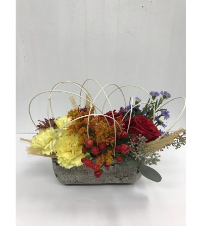 Autumn's Garden by Eagledale Florist