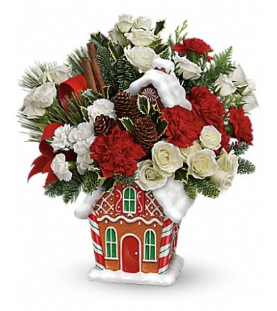 Gingerbread Cookie Jar Bouquet 14