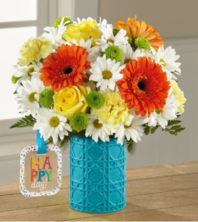 TCG's Ftd Happy Day Birthday Bouquet Deluxe