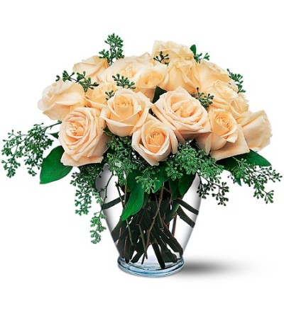 Beautiful Dozen White Roses