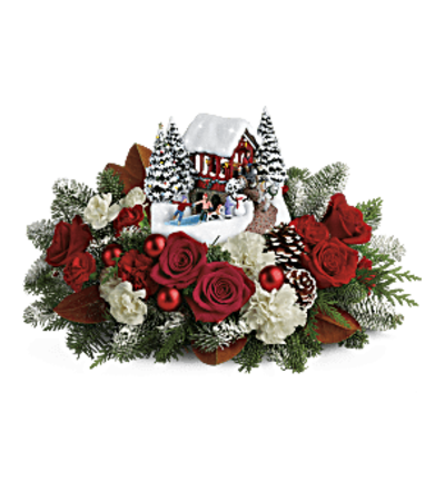 Thomas Kinkade's Snowfall Dreams Bouquet 2018