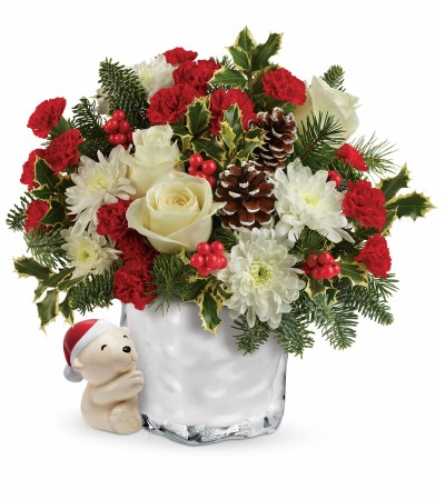 Teleflora's Send A Hug Bear Buddy