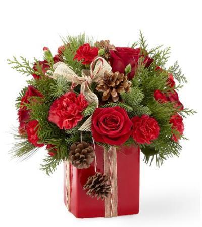 Gracious Gift Vase Bouquet