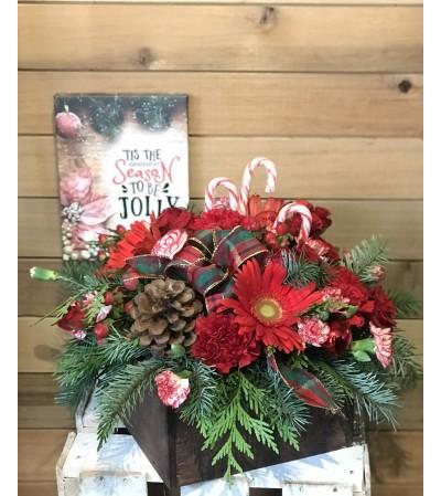 Box Full of Christmastime Joy