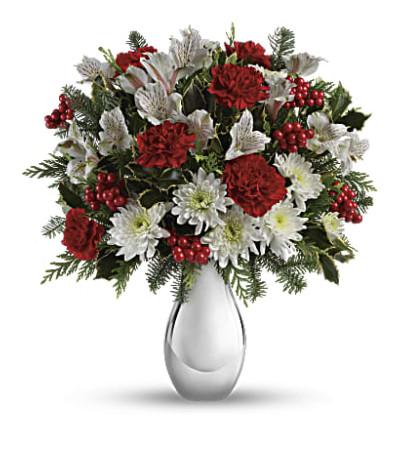 Silver Snowflakes Bouquet