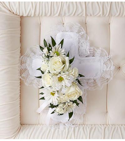 Cross Casket Pillow