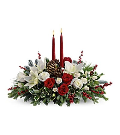 Christmas Wishes Holiday Centerpiece