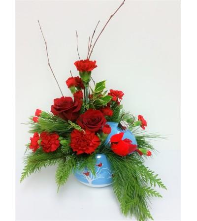 Cardinal Blooms