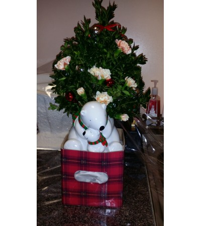 Christmas Bears Arrangement
