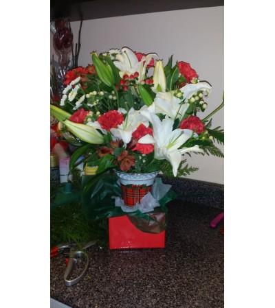 Winter Holidays Bouquet
