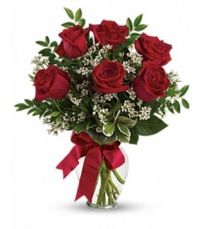 Thoughts of You Bouquet Red Roses