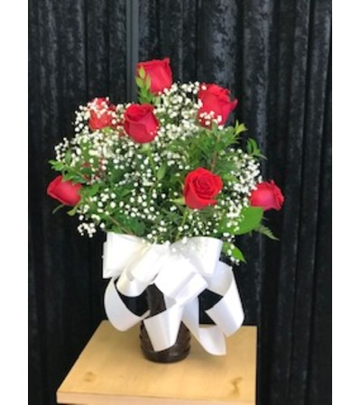 Sweet 12 red roses