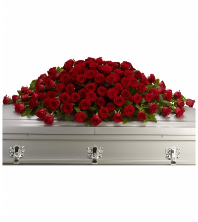 Teleflora Great Love Casket Spray