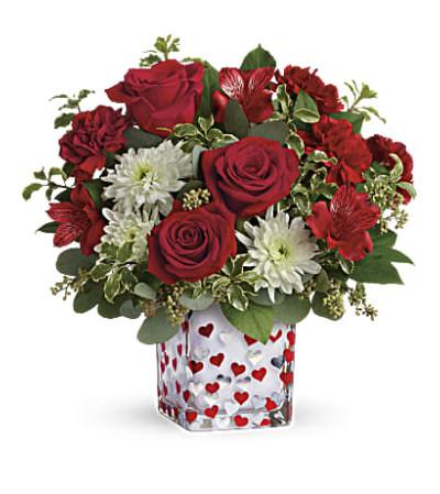 Happy Harmony Bouquet T12V400