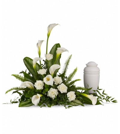 Teleflora Stately Lilies Cremation Tribute