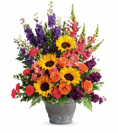 Hues Of Hope Bouquet by Telefloras