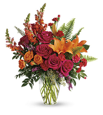 Punch Of Color Bouquet