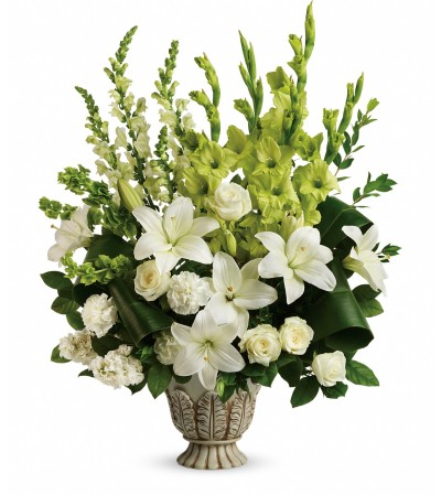 Clouds of Heaven Bouquet by telefloras