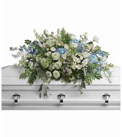 Tender Remembrance Casket Spray