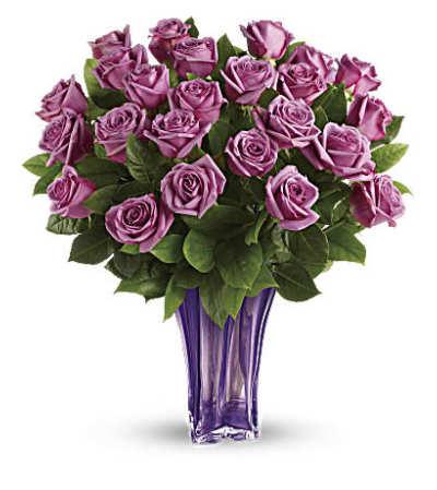 Lavender Splendor Bouquet Two Dozen