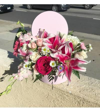 Pink Delight Box Bouquet