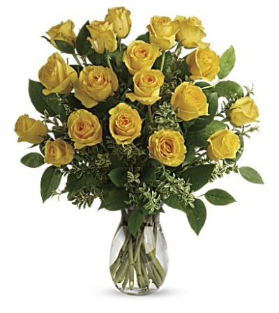 Yellow Bae Roses 12