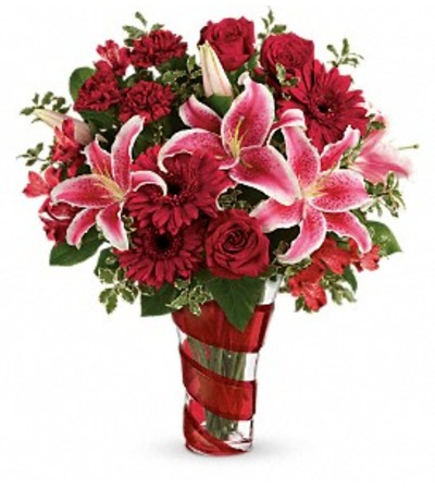 Teleflora Swirling Desire Bouquet