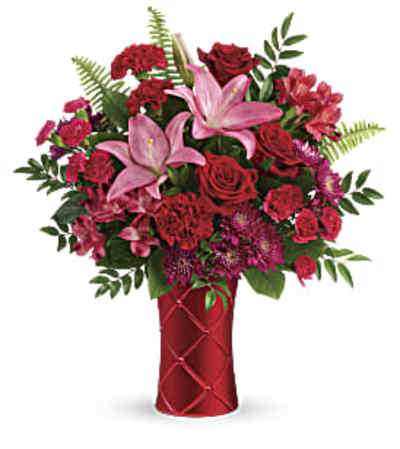 Teleflora Sweetest Satin Bouquet
