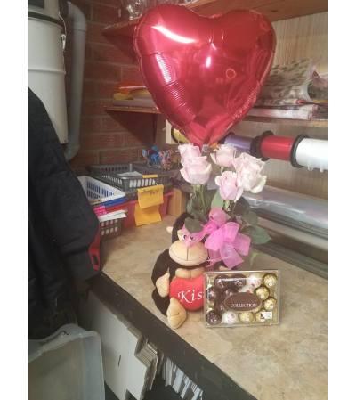 VALENTINES DAY LOVE MONKEY