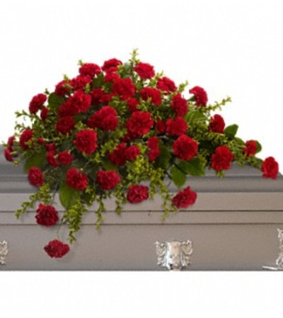 Ellington's Adoration Casket Spray
