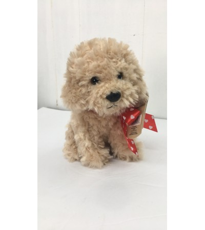 Beau the poodle (tan)