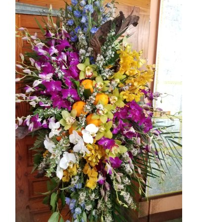 ORANGES AND ORCHIDS