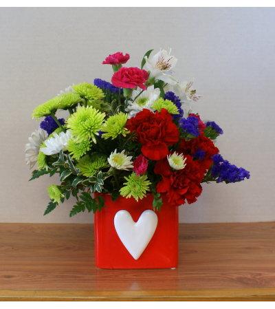Hearts Aglow Bouquet