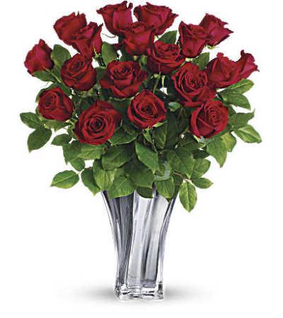 Flawless Romance Bouquet by Teleflora