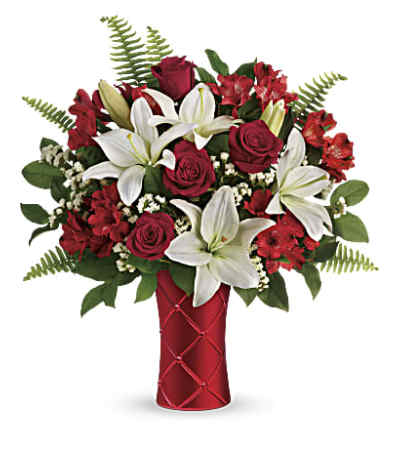 Sweet Satin Vase