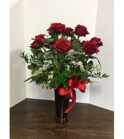 Valentine's Day Classic Dozen Red